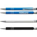 High Gloss Push Action Aluminum Ballpoint Pen (Optional Full-Wrap Laser Engraving)