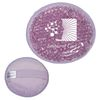 Round Plush Hot-Cold Pack with Gel Beads