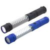 Full-Size Flashlight - 18 LED Side, 9 LED End, with Flashing Red Lights - With Magnetic End