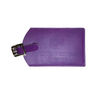 Luggage Tag Made From Rich Italian Synthetic Leather (in 30 colors!)