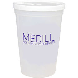 16 oz Stadium Cup Shaker with Lid