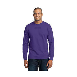 Mens' Long Sleeve 50/50 Blend T-Shirt