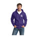 Men's 50/50 Blend Full-Zip Hooded Fleece Sweatshirt