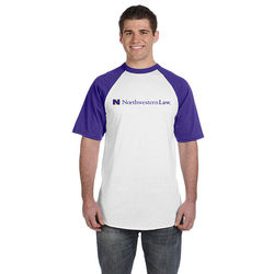 Mens' 50/50 Short-Sleeve Raglan T-Shirt