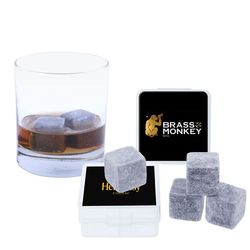 Reusable Whiskey Stone 4-PACK Will Keep Your Drinks Cool Without Diluting Them