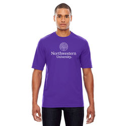 Mens' Performance Pique Crew Neck T-Shirt