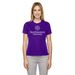 Ladies' Performance Pique Crew Neck T-Shirt