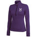 Ladies' Moisture-Wicking Stretchy Fitness 1/4 Zip Pullover