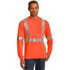 CornerStone ® - ANSI 107 Class 2 Long Sleeve Safety T-Shirt