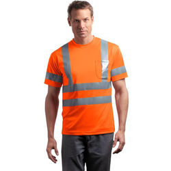 CornerStone ® - ANSI 107 Class 3 Short Sleeve Snag-Resistant Reflective T-Shirt