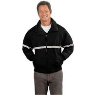 Adult Water-Resistant Jacket with Reflective Taping