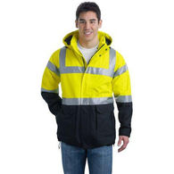 Port Authority ® ANSI 107 Class 3 Safety Heavyweight Parka
