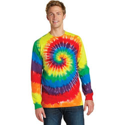 Tie-Dyed Essential Long Sleeve T-Shirt