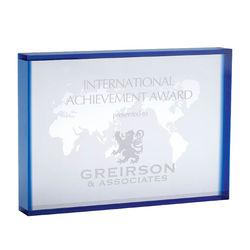 Crystal World Map Award