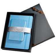 Faux Leather Journal and Jotter Gift Set