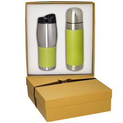 Thermal Bottle and Tumbler Gift Set