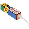 Universal Power Bank with Rubik's Cube Design - 2200 mAh - Charges Phones