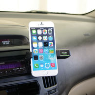 Mobile Device Holder Easily Mounts Onto Your Car's Air Vents for Hands-Free Accessibility - BETTER