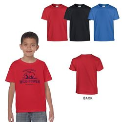 Quick Ship Gildan® Youth 5.3 oz Heavy Cotton Tee - Colors
