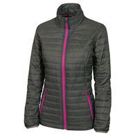 Charles River® Ladies'  Quilted Cold-Weather Jacket is Packable and Super-Warm but Comfortably Lightweight