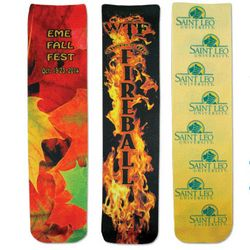 Crew Socks with Full Color Printing on Both Sides