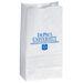 Popcorn Bag - White