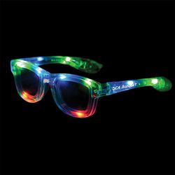 Light-Up Wayfarer Glasses