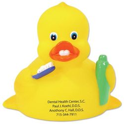 Rubber Duck with a Dental Theme