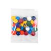 1 oz Snack Pack Filled with Chocolate Buttons in Your Corporate Colors