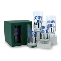 12.5 oz Beverage Glass Set (4)