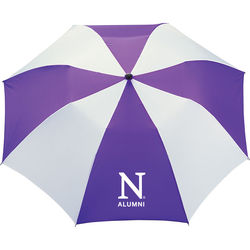 "42"" Arc Auto-Open Slim Stick Umbrella (15"" folded)"