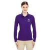 Ladies' Long-Sleeve Moisture-Wicking Pique Polo