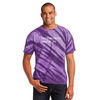 Adult Tie-Dyed Tiger Stripe T-Shirt