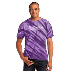 Tie-Dyed Tiger Stripe T-Shirt