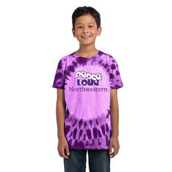 Tie-Dyed Window T-Shirt - Youth