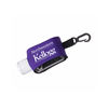 1 oz Hand Sanitizer with Moisture Beads in Neoprene Case with Clip
