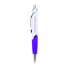 Ballpoint Pen with Flattened Barrel and Large Imprint Area with Full-Color Printing