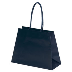 "Matte Laminated Paper Bag - 10"" x 7.5"" - Foil Imprint"