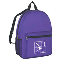 Colorful Polyester Budget Backpack