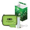 Deluxe Tech Travel Kit with Custom Box Includes 2200 mAh PLASTIC Power Bank, Car Charger and Cable