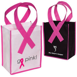 "7.75"" x 9.75"" Awareness Ribbon Bag"