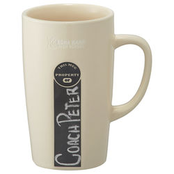 16 oz Ceramic Mug with ID Chalkboard