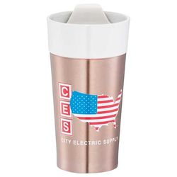 11 oz Stainless Steel and Ceramic Tumbler