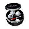 Tin with 3 Titleist® Golf Balls, 5 Tees, Ball Marker and Sharpie® Marker