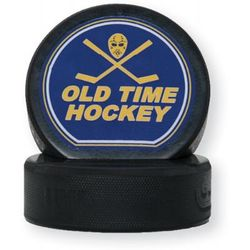 Hockey Puck Business Card Holder and Phone Stand
