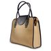 """Laptop Tote - Canvas and Faux Leather - 16.75"""" x 12.75"""""""