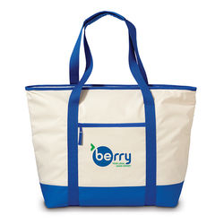 "17.5"" x 18"" Insulated Tote Keeps Cold Foods Cold and Hot Foods Hot"