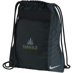 "15"" x 18"" Nike® Drawstring Cinch Backpack/Shoe Sack"