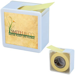 Square Memo Tape Dispenser - an Endless Roll of Sticky Notes (!)