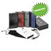 Universal Power Bank - 8000 mAh - Vinyl, Charges Tablets and Phones  - Looks like a Notebook!
